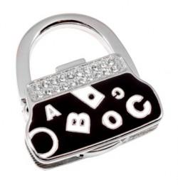 Держатель для сумки Jinli «Буквы» Черный JIN133