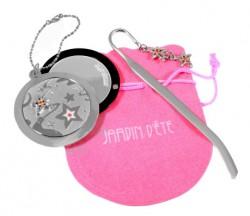 Подарочный набор Jardin D`Ete «Две звезды» (зеркало и закладка)