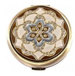 Зеркало косметическое LEIF LOWE «Голубой цветок» 272830AB