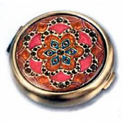 Зеркало косметическое LEIF LOWE «Золотой цветок» 272836AB