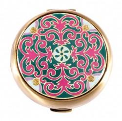 Зеркало косметическое Leif Lowe «Завитки розовые» 275685AB
