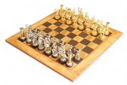 Шахматы Manopoulos Оливковый совет SE10
