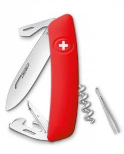 Швейцарский нож Swiza D03 Red (KNI.0030.1000)
