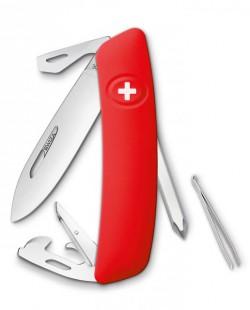 Швейцарский нож Swiza D04 Red (KNI.0040.1000)