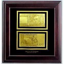 Панно - банкнота 100 гривен
