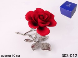 Роза декоротивная красная