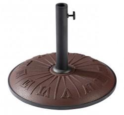 """Подставка для садового зонта TE-H1-15 коричневая """"часы"""""""