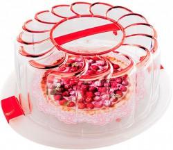 Контейнер для торта Snips 28 см Красный