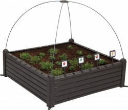 Грядка Keter Garden Bed Черная