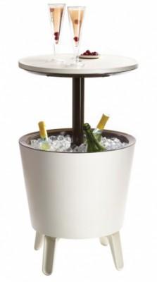 Стол-трансформер Keter Cool Bar, белый