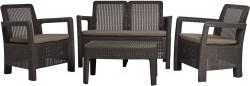 Набор мебели Allibert Tarifa Lounge Set Коричневый