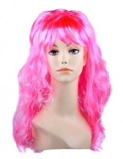 Парик Барби розовый