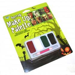 Грим карнавальный Хэллоуин 4 цвета