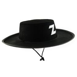 Шляпка Зорро детская