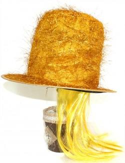 """Шляпа """"Цилиндр с париком"""""""