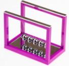 """Баланс """"рамка"""" большой 16 см фиолетовый"""