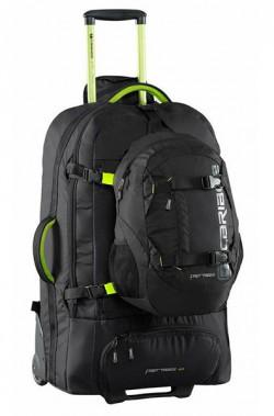 Сумка-рюкзак на колесах Caribee Fast Track 85 Black