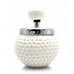 Пепельница с крышкой керамическая Мяч для гольфа