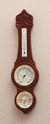 Барометр Moller 203973 с гигрометром и термометром