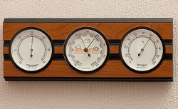 Барометр Moller 203974 с гигрометром и термометром