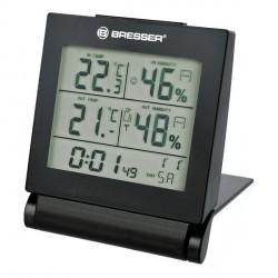 Термометр-гигрометр Bresser MyTime Travel с часами