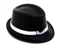 Зажигалка шляпа с полями черная