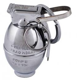 Зажигалка-брелок карманная Граната