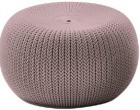 Кресло-пуф KNIT SEAT (COZIES) лиловый