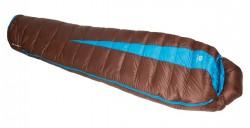 Спальный мешок Sir Joseph Paine 900/190/-12.4°C Brown/Turquoise (Right)