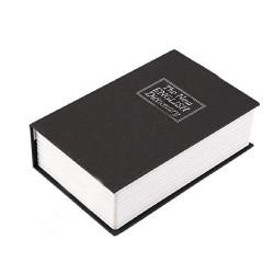 Книга сейф Словарь копилка черная 11см