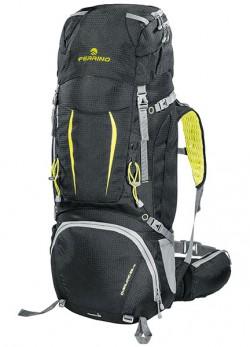 Рюкзак туристический Ferrino Overland 65+10 Black/Yellow