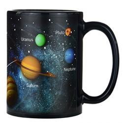 Чашка-хамелеон Солнечная система