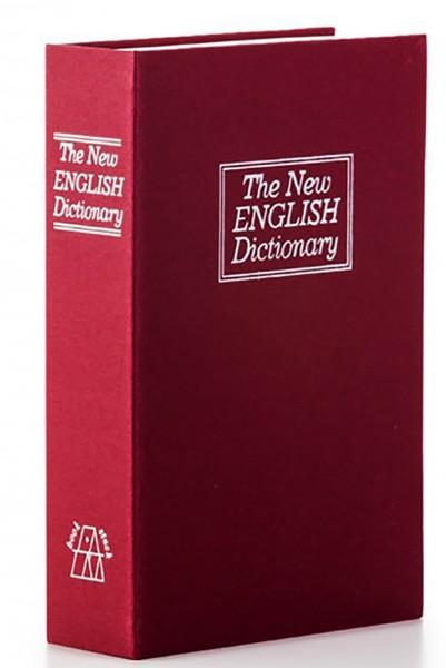 Книга сейф Словарь маленькая красная