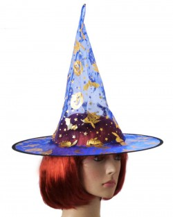 Шляпа Колпак капроновая синий