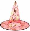 Шляпа Колпак Ведьмы капроновая красная