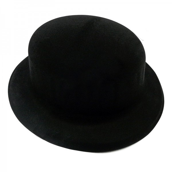 Шляпа Котелок Флок черный