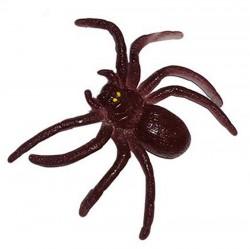 Резиновый Паук 3см коричневый