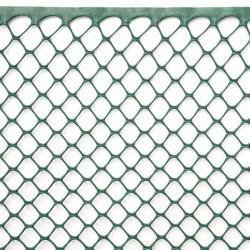 Сетка для растений 1x5м рулон цвет-зеленый 15 мм шестиугольные отверстия