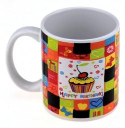 Чашка с терморисунком Happy birthday