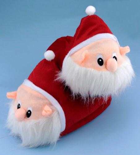 Тапочки Дед Мороз Гномик