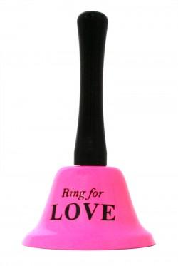 Колокольчик для любви (for love) розовый