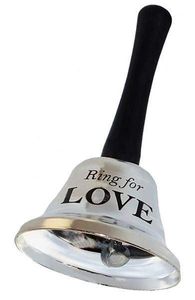 Колокольчик для любви (for love) серебряный