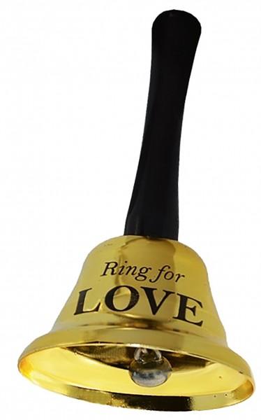 Колокольчик для любви (for love) золотой