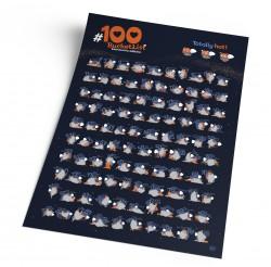 Скретч постер #100 BucketList KAMASUTRA edition