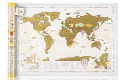 Скретч карта Discover&Scratch World Gold