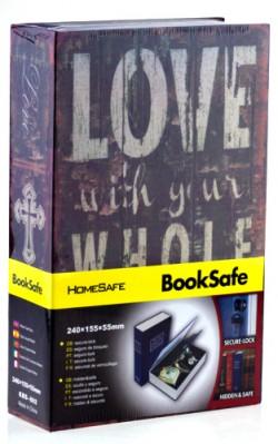 Книга сейф Love
