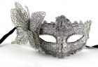 Венецианская маска с бабочкой блеск