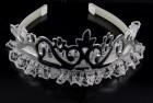 Обруч корона silver
