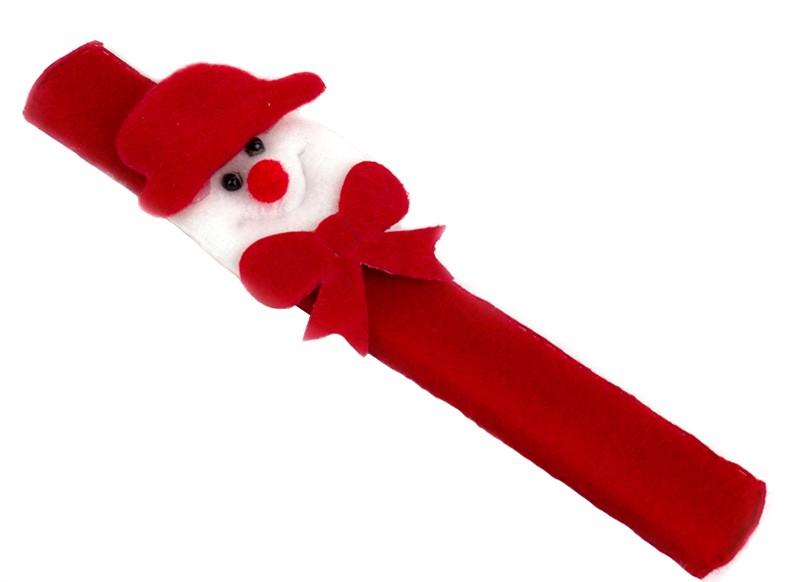 Браслет захватка новогодний Снеговик