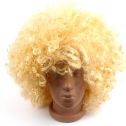 Парик кучерявый пышный блонд